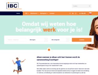 ibc-people.nl screenshot