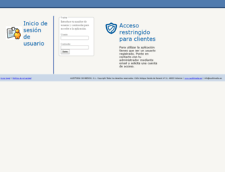 ibcom.auditmedia.es screenshot