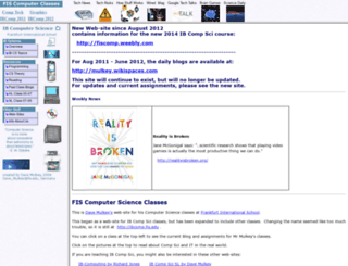 ibcomp.fis.edu screenshot