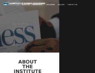 ibdng.org screenshot
