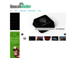 ibeacon.com screenshot