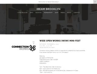 ibeambrooklyn.com screenshot