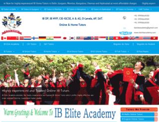 ibeliteacademy.com screenshot