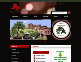 iberbonsai.com.pt screenshot