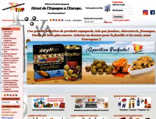 iberianwinesandfood.com screenshot
