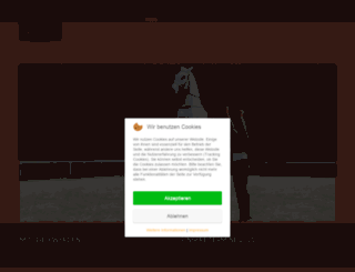 iberische-pferde.de screenshot