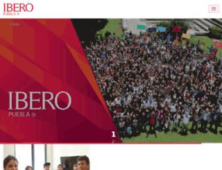 iberopuebla.edu.mx screenshot
