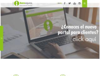 iberoseguros.com screenshot