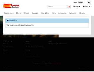 iberus.eu screenshot