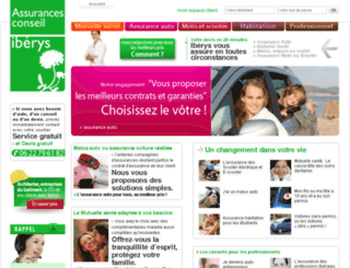 iberysassurances.fr screenshot