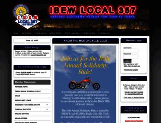 ibew357.net screenshot