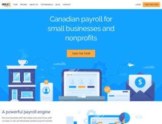 ibexpayroll.com screenshot