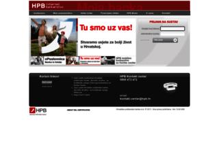 ibg.hpb.hr screenshot