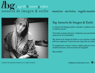 ibgasesoriadeimagen.com.ar screenshot