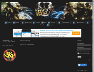ibgclan.co.nr screenshot