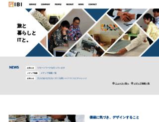 ibi-japan.jp screenshot