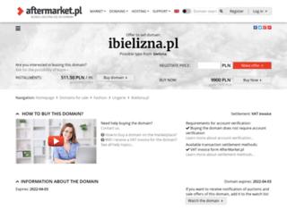 ibielizna.pl screenshot
