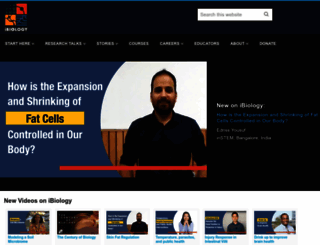 ibiology.org screenshot