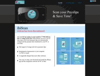 ibiscan.ch screenshot