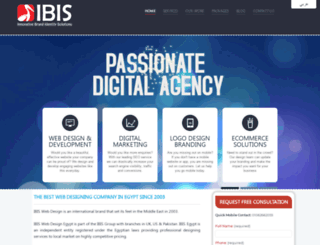 ibiswebdesign.com screenshot