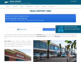 ibiza-airport.net screenshot