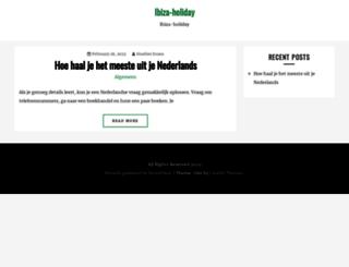 ibiza-holiday.org screenshot