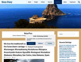 ibiza-pictures.com screenshot