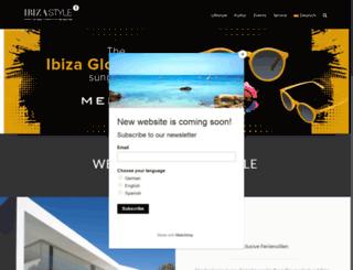 ibiza-style.com screenshot