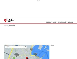 ibiza.callejero.net screenshot