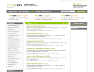 ibiza.ipsojobs.com screenshot