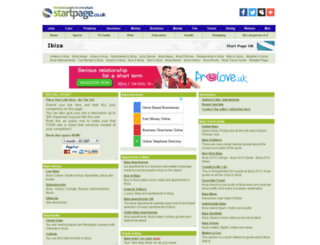 ibiza.page.co.uk screenshot