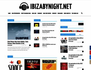 ibizabynight.net screenshot