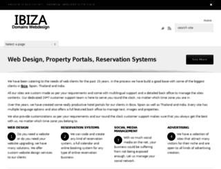ibizadomains.com screenshot