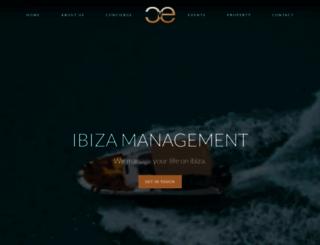 ibizamanagement.com screenshot