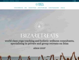 ibizaretreats.com screenshot