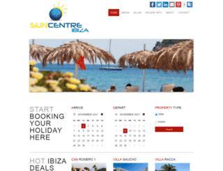 ibizasuncentre.com screenshot