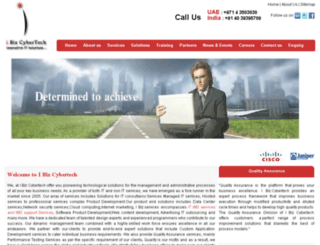 ibizcybertech.com screenshot