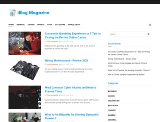 iblogmagazine.com screenshot
