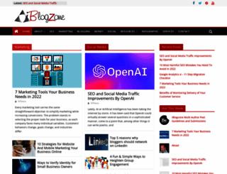 iblogzone.com screenshot