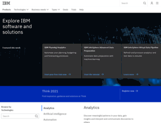 ibmconnectedcustomer.com screenshot