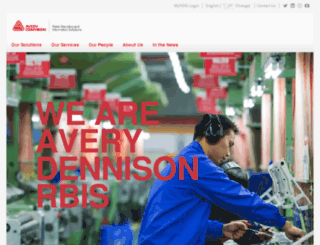 ibmd.averydennison.com screenshot