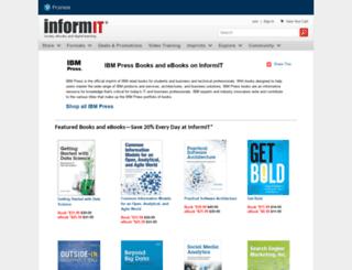 ibmpressbooks.com screenshot