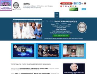 ibms.us screenshot