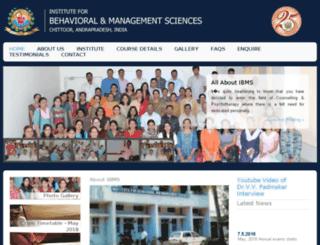 ibmsglobal.org screenshot