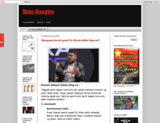 ibnuhasyim.blogspot.com screenshot