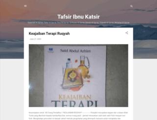 ibnukatsironline.blogspot.co.id screenshot