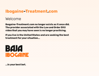ibogaine-treatment.com screenshot