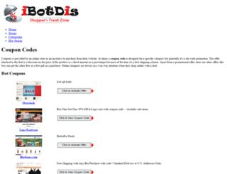ibotdis.com screenshot