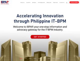 ibpap.org screenshot