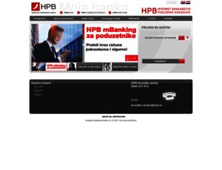 ibps.hpb.hr screenshot